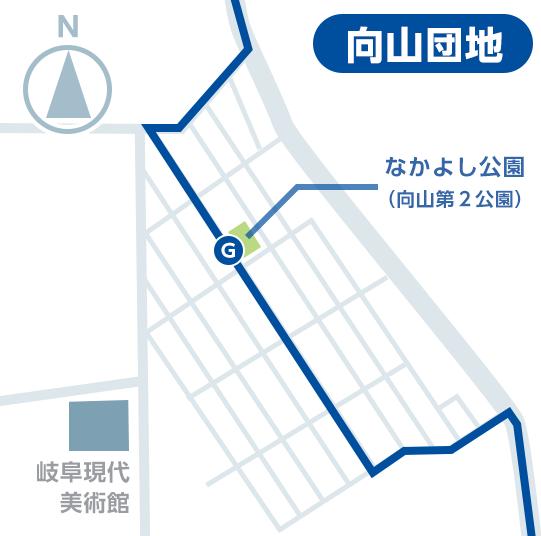 マーゴ無料シャトルバス バス乗り場